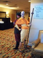 Aang and Zuko...again by NaughtsApproach