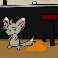 Clean Sweep Minccino by BuizelKnight