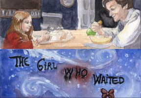 Doctor Who Bookmark: The Girl Who Waited by Stella-di-A