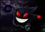 002 - PKMN - Gengar by DragonSwordXiaoLong