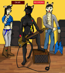 Nudist Bassist by Cpt-Night