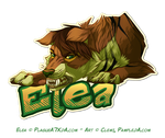 Badge Elea by Pample
