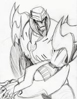 Megatron Sketch by just-nuts