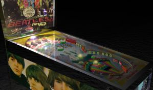 Pinball Machine in Pepperland by Cunning69Linguist