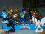 Skylanders Trap Team Alpha by LionheartCaptain