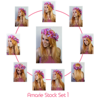 Amarie Stock Set 1 by charligal-stock