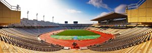 Olympic Stadium Barcelona by Nightline