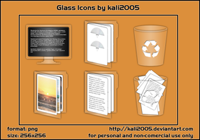 Glass Icons by kali2005