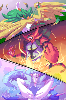 Final Evolutions by Cabbion