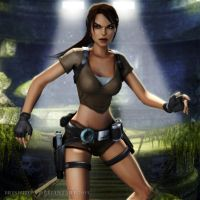 Tomb Raider Legend: Lara Croft 2 by Irishhips