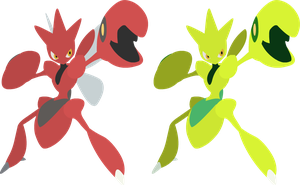 Vector - Scizor by TaerkEX