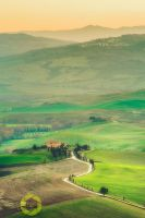 View from Pienza by JPawlak