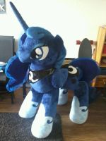 Giant Luna is finished now! by RiraCreations