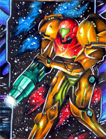 Samus by Zeldagal