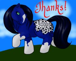 Thanks for 3000 hits by SparklersOasis