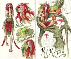Kakapo sketchbook 1 by firecloud