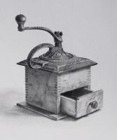 Coffee Grinder by facesincolor