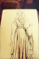 Cersi Lannister (in progress :3) by Maheen-S