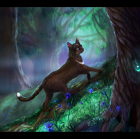 ancient trails, marked by emerald magic by Ali-zarina