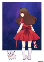 Bee and PuppyCat by Lindajing