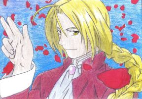 Edward Elric: May Chang style by Shadow-Wing456