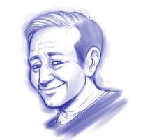 R.I.P. Robin Williams by Mr-Samson