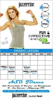 Jazzercise Tab. for mother by AnonimoJar