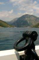 Boat in Montenegro by musicalcat