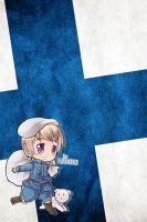 Hetalia iWallpapers - Finland by Dreamweaver38
