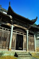 Ancestral House of Huang Village -13 by DawnRoseCreation