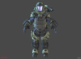 MINIBOSS [WARFACE] by Goreface13