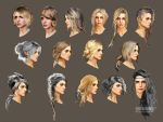 06 Ciri Haistyle Ideas concept art by Scratcherpen