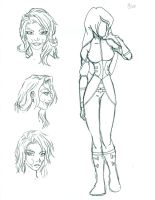 Character Sketch - Psion by Morgaine-le-Fay