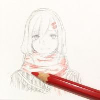 Red is the color of a hero by aisu-ruru