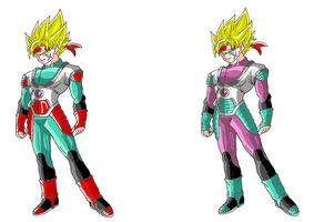 dragon ball xenoverse/heroes/online by justice-71