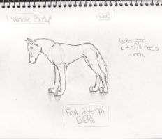 Learning How 2 Draw Wolves III by XxKaT2008xX