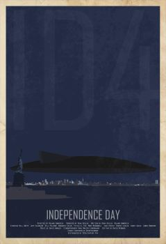 ID4 Independance Day Poster by edgarascensao