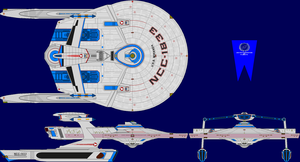 USS Miranda Multi-View by captshade