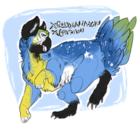 golden macaw gryphon - ota - points only - open by deerborne