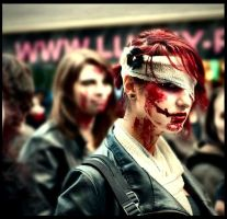 Zombie Walk 2010 Paris Again by AgatheTLathrop