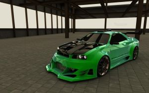 Nissan Skyline GTR Pearl by TheSaladMan