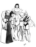 The Six Sages by Sandahl