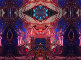 Throne Room / Supplicant's Approach by deepvoidskitzoid