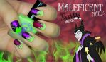 Maleficent Nails by JessicaOssa