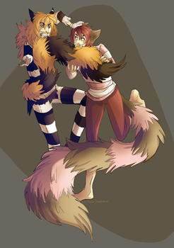 Tail Grab by Simply-Psycho