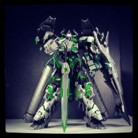 Gundam Kitbash UC REVENANT - Down Low by s00nk1a