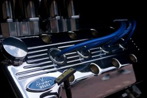 Blue valve cover by ace10414