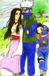 Naruto~Kakashi*Hanare---Memeries of Clouds by WDSlyugi