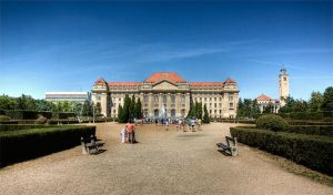 Debrecen University by blinka