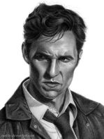 Rust Cohle - True Detective by Naitho